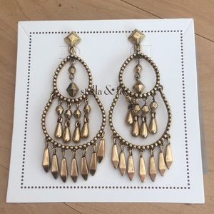 Stella & Dot Reverie Chandelier Earrings